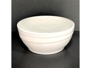 """White""  Bol p/u cereale, d 15,2 cm, 1 pcs"