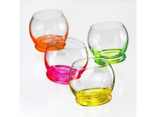 "CR/4718 ""NeonCrazy Mini"" Set pahare 60 ml, 4 pcs."