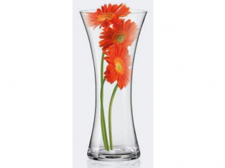 CR/ Vaza din sticla cristalizata 300 mm, 1 buc.