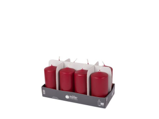 Set luminare-pilon Dark Red 120/60 mm, 34h, 8 buc