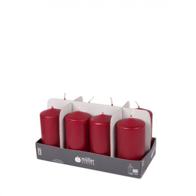 "Set luminare-pilon Dark Red 120/60 mm, 34h, 8 buc, ""BSS"","