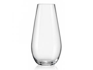 CR/ Vaza din sticla cristalizata 245 mm, 1 buc.