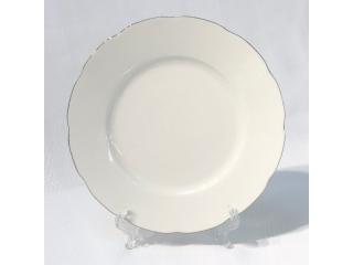 "OKT/""Bone Olympos""Platou din portelan D  20 cm, 1 buc"