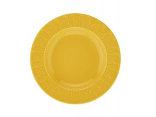 """""""Selanik """" Farfurie adinca, galben,22 cm, 1 pcs."""