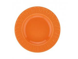 """OKT/ """"Selanik """" Platou orange D 26 cm, 1 pcs"""
