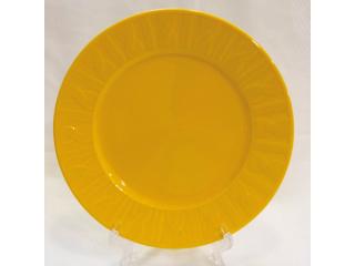 """OKT/ """"Selanik """" Platou galben D 26 cm, 1 pcs."""