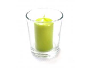 "Luminare in pahar ""Maxi"" green, 1 buc"