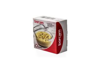 """Жаропрочная посуда с крышкой """"Borcam""""  840 ml, 1шт."""