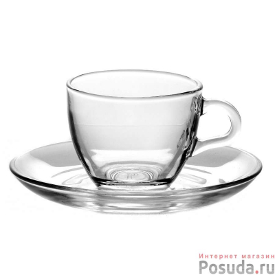 """Coffee set for 6 persons """"Basic""""  90 ml, 12 pcs. , Tea and coffee mugs,"""