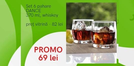 "Pahare ""Dance"" Acum la SUPER PREȚ!"