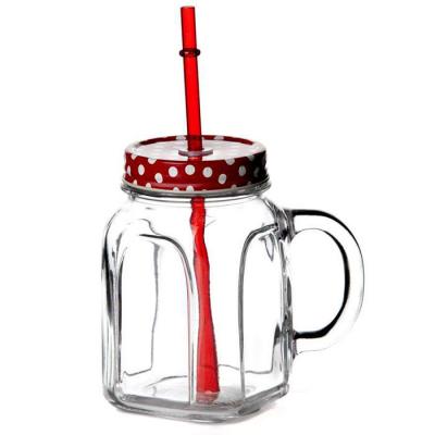 """""""Homemade"""" Cana cu capac rosu 450 ml, 1 buc. 1/12, Cani pentru ceai şi cafea,"""
