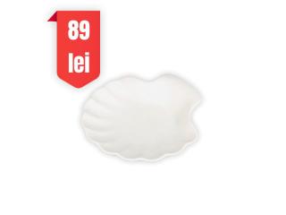 """White"" Platou scoica, D 15 cm, 1 pcs"
