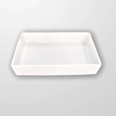"""""""White"""" Tava D 19*16 cm, 1 pcs, WHITE,"""