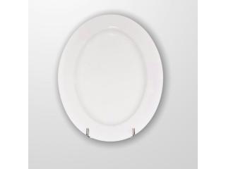 """""""White"""" Platou Oval 30*22 cm , 1 pcs"""