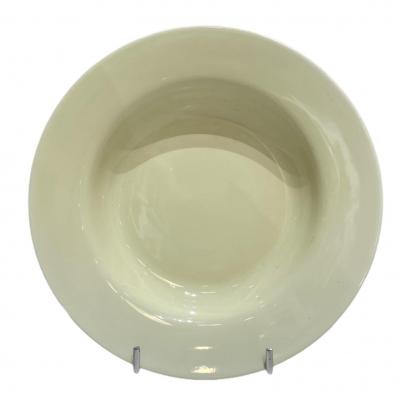 """Horeca Olive"" Farfurie adinca D 23 cm, 1 buc., WHITE,"