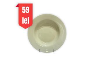 """Horeca Olive"" Farfurie adinca D 23 cm, 1 buc."