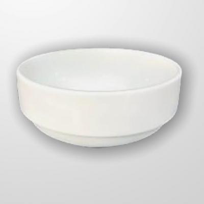 """""""White"""" Bol din portelan 300 ml D 14 cm, 1 buc., WHITE,"""