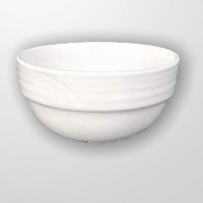 """Simplicity Thick Edge"" Bol din portelan 120 ml D 9 cm, 1 buc., WHITE,"