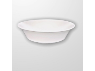 """White""  Salatieră din portelan D 25 cm, 1 pcs"