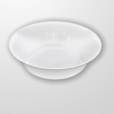 """White""  Salatiera din portelan D 23 cm, 1 buc, WHITE,"