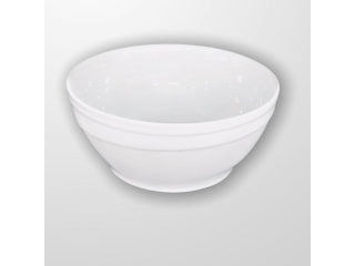 """White""  Salatieră din portelan D 23 cm, 1 pcs"
