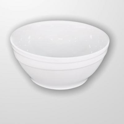 """White""  Salatieră din portelan D 23 cm, 1 pcs, WHITE,"