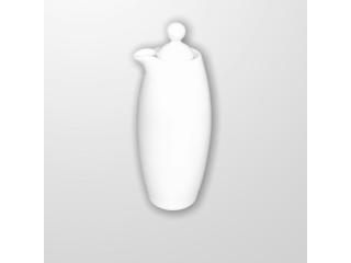 """""""White"""" Vas p/u ulei/otet cu capac 200 ml H 14 cm"""