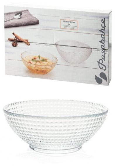 """""""Generation'' Set salatiere 6 buc. 1/4, Platouri, salatiere, boluri, vase pentru fructe și desert,"""