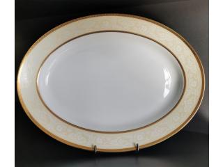 """""""Casiel Gold"""" Platou oval, 42 cm, 1 buc"""
