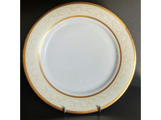 """Casiel Gold"" Platou rotund, 30 cm, 1 buc"