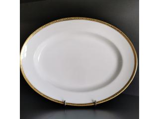 """Mrose02"" Farfurie ovala 35 cm, 1 buc."