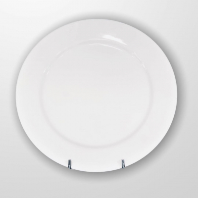 """""""White"""" Platou D  29 cm,1 pcs, WHITE,"""